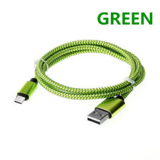 0.3/1M/2M/3M Fast Charging USB 3.1 Type C Braided Data Sync Charger Cable Cord