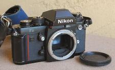 Nikon F3 Black SLR Camera body with strap - Working USER condition