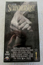 SCHINDLER'S LIST (1997, 2-Tape Set) VHS Tapes Factory SEALED NEW RA27
