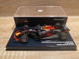 1/42 Minichamps Red bull tag heuer RB14 daniel Ricciardo winner monaco GP 2018