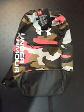 Under Armour Patterson Backpac Black/Camouflage NWT