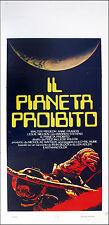CINEMA-locandina IL PIANETA PROIBITO pidgeon,francis,nielsen F.WILCOX