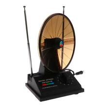 Universale Antenna Interno Per TV A Colori UHF VHF FM HDTV Cavo 3ft EU- 22cm