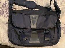 Tumi Messenger Shoulder Bag (Blue) - Excellent Condition