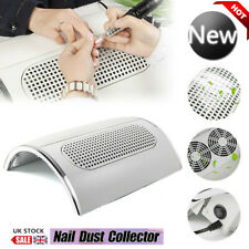 40W Nail Dust Vacuum Collector Cleaner Nails Manicure Machine Tools 220V 3 Fans