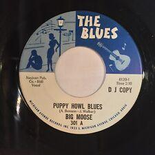 Big Moose Puppy Howl Blues Rambling Woman EX THE BLUES PROMO northern mod KILLER