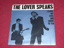 """The Lover Speaks:  I close my eyes and count to ten   orig EX+   7"""""""