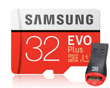 Samsung EVO Plus 32GB 32G micro SD micro SDHC Flash Memory Card 95MBs Class10 +