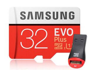 Samsung EVO Plus 32GB 32G micro SD micro SDHC Flash Memory Card 95MBs Class10 +
