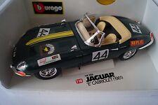 Bburago Burago Modellauto 1:18 Jaguar E Cabriolet 1961 Nr. 44 Cod. 3016 *in OVP*