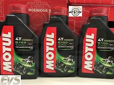 OLIO MOTORE MOTO MOTUL 5100 10W50 JASO MA2 4T Technosynthese 3 LITRI