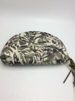 $29 Lucky Brand large printed cosmetic pouch multi color L1