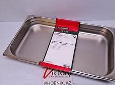 Tramontina ProLine 9 Qt Full-Size Chafing Dish Food Pan Stainless Steel 800180