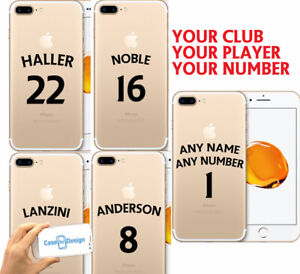 Hammers Football Shirt Style Phone Case Cover  Any Name & Number iPhone Samsung