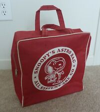 Vintage Snoopy Astronaut Travel Bag with Handles