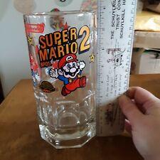 Nintendo Super Mario Bros. 2 Glass Stein, 1989