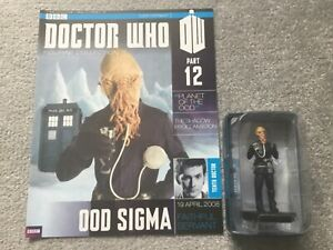 DOCTOR DR WHO EAGLEMOSS - PART 12 OOD SIGMA - BOXED FIGURE & MAGAZINE