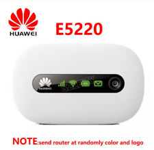 Unlocked Huawei E5220 3G Wifi Wireless Router Mifi Mobile Hotspot Portable Pocke