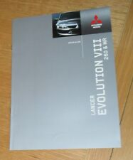 Mitsubishi Lancer Evolution VIII Brochure 2005 - Evo 8 260 & MR