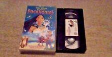 Pocahontas WALT DISNEY CLASSIC UK PAL VHS VIDEO 2000 Mel Gibson Linda Hunt