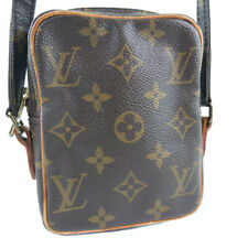 LOUIS VUITTON M45268 Pochette Mini Danube Shoulder Bag Brown Monogram canv...