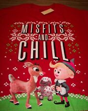 RUDOLPH THE RED-NOSED REINDEER ISLAND OF MISFIT TOYS T-Shirt XL NEW w/ TAG