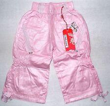 Chi Long Girls Shimmer Pink Capri Pants size 122/128 7-8 years new
