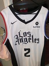 Brand New Kawhi Leonard Throwback Clippers Jersey XXL