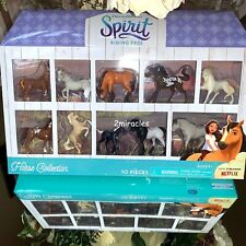 DreamWorks Spirit 10 Piece Playset Small Horse Collection Christmas Gift