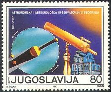 Yugoslavia 1987 Astronomy/Telescope/Observatory/Eclipse/Science 1v (n42446)
