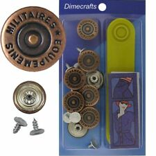 17 mm No-Sew Replacement Jean Tack Buttons w/Tool (BSA23T8)  8 CT.