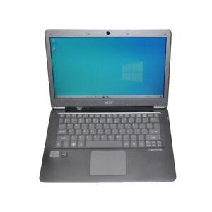 "Acer Aspire S3 MS2346 13.3"" Laptop Intel i7-2637M CPU 4G RAM 500G HDD Win10"