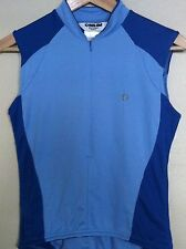 PEARL IZUMI Womens Cycling Vest SMALL S BLUE Pockets