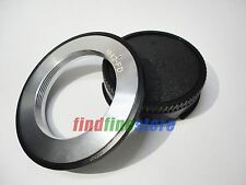 M42 screw Lens to Canon FD Mount Camera AE-1 A-1 F-1 T50 T90 FTb Adapter + CAP