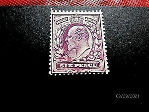 GB #135 6p mint f-vf og h, cv 45.-