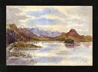 C.A. Grove - Late 19th Century Watercolour - Loch Tarff