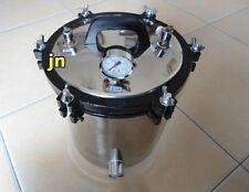 18L Portable Tatoo Autoclave, High Pressure Steam Sterilizer Autoclave