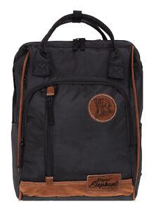 Rucksack Elephant Finn Tasche A4 Freizeitrucksack Herren Damen Daypack Schwarz