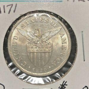 Philippines  1920  50 centavos  KM 171 BU