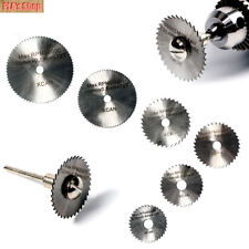 6pcs HSS Circular Saw Blade Rotary Tool For Dremel Metal Cutter Power Tool Set
