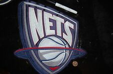 "New Jersey Nets 11 ""Large Jacket 97/98-11/12 SeasonsLogo Patch Basketball"