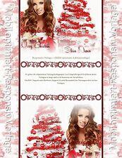 Auktionsvorlage Mode Schmuck Weihnachten Winter Mobile Responsive Template  599