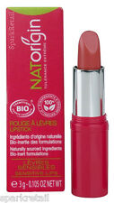 NATOrigin Organic 100% Natural LIPSTICK 3g ROSE CUIVRE/Copper Rose Pink