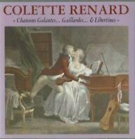 DOUBLE ALBUM CD COLETTE RENARD CHANSONS GALANTES  2785
