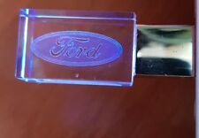FORD Car Logo USB 2.0 Flash Drive Stick 8/16/32 GB Red/Blue/Green/Purple LED