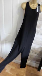 New ZARA ● size M 10 12 ● black lagenlook jumpsuit playsuit womens ladies