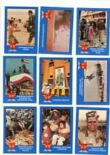 TRIUMPHS & HORRORS of the Gulf War -- Box set of trading cards