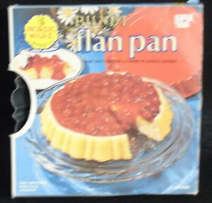 Bundt Flan Pan by Nordic Ware Non-tick Interior 4 Cup Size