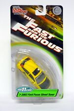 RACING CHAMPIONS 2003 FORD FOCUS STRADA sintonizzatore FAST AND THE FURIOUS