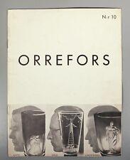 More details for orrefors no 10 catalogue 1935 works by hald gate and lindstrad
